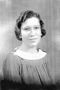 Ethel Brandt in High School
